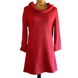 ❤️ KAREN SCOTT 3/4 Sleeve Cowl Neck Sweater